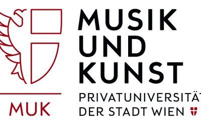 Neuer Name für die KONSuni: Musik und Kunst Privatuniversität der Stadt Wien (kurz MUK)