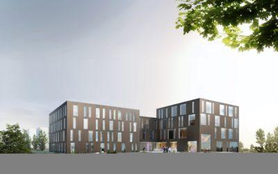 17.3.2017: Eröffnung des neuen Universitätsgebäudes der Karl Landsteiner Privatuniversität für Gesundheitswissenschaften (KL)