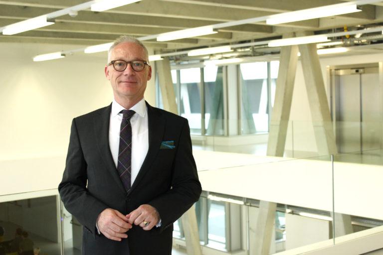 Herbert Grüner ist neuer Rektor der New Design University