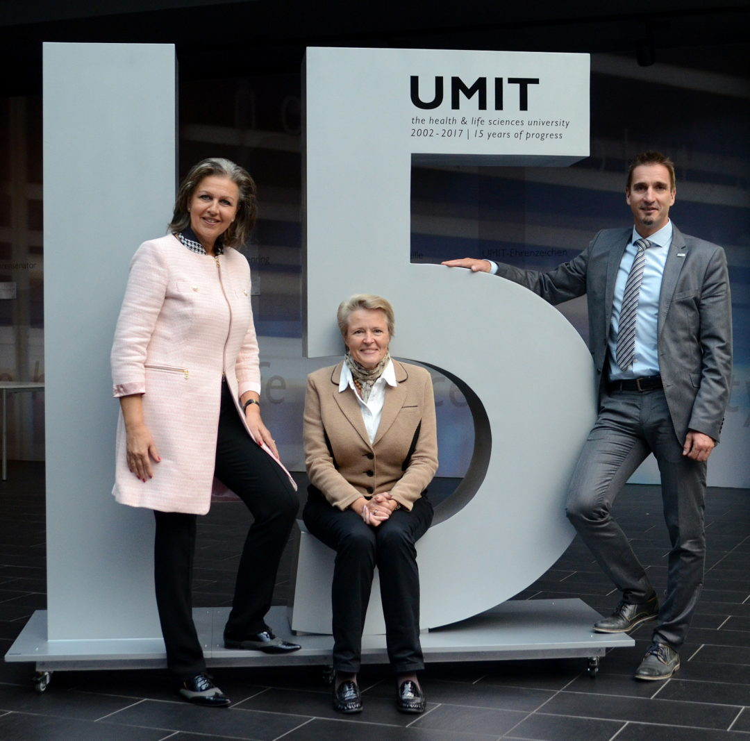 Tiroler Health & Life Sciences Universität UMIT mit Rekordjahr