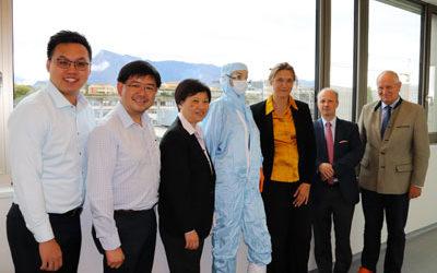 """BioTech-Unternehmen """"Paracrine Therapeutics"""" aus Singapur kooperiert mit dem GMP-Labor der PMU"""