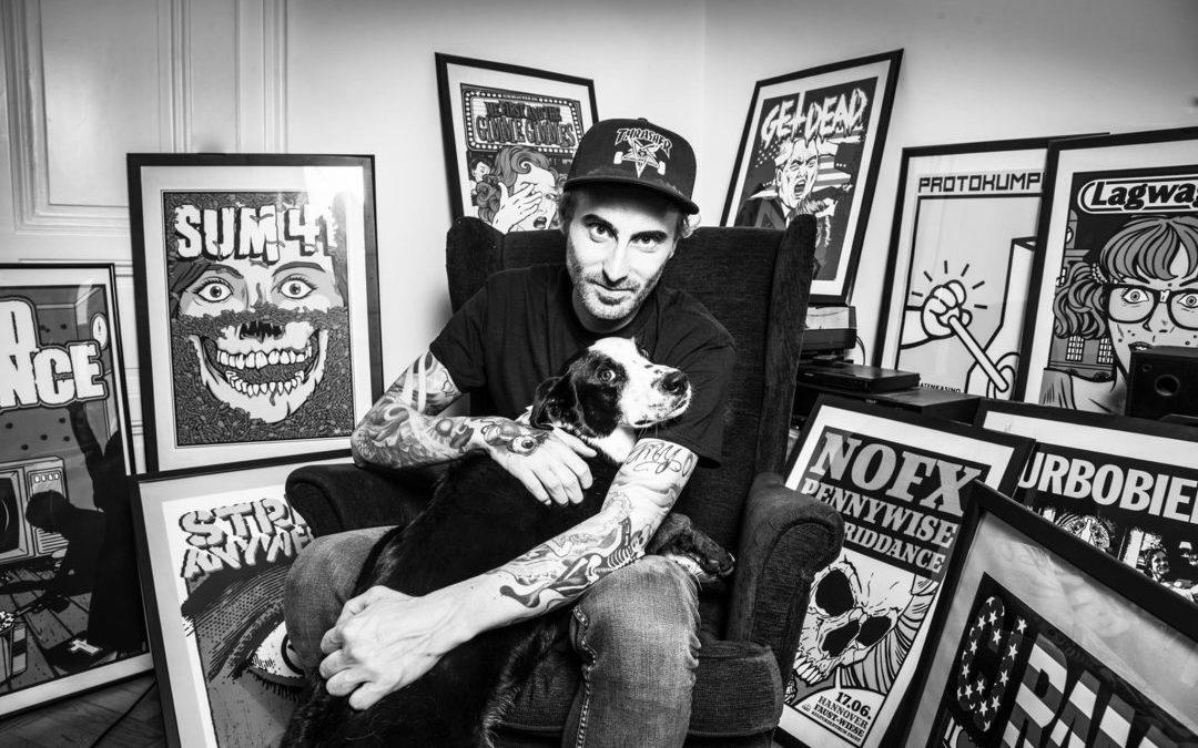 Stefan Beham: Punkrock meets graphicdesign