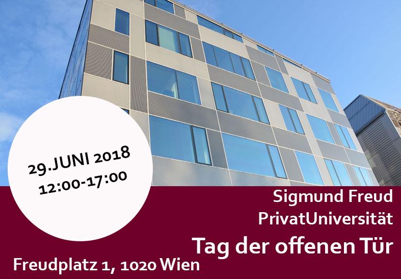 Tag der offenen Tür an der Sigmund Freud PrivatUniversität