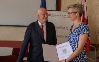 Astrid Schwarz erhält Theodor Körner Förderpreis