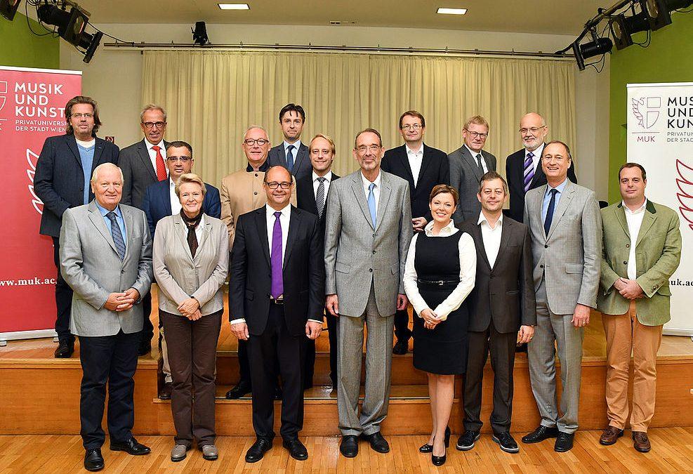 Treffen der 13 Privatuniversitäten mit Bundesminister Dr. Heinz Faßmann