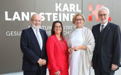 Karl Landsteiner Universität Krems feiert 5jähriges Bestehen