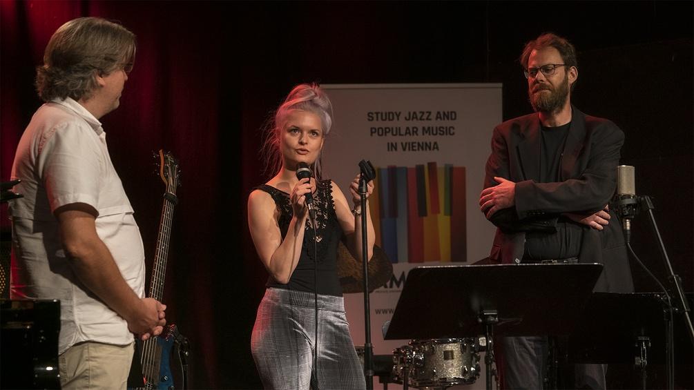 Constanze Friedel gewinnt das Ö1 Jazzstipendium 2020