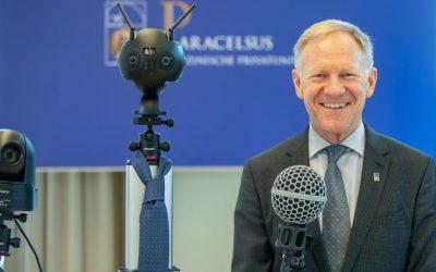 Prof. Wolfgang Sperl ist neuer PMU-Rektor