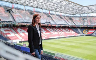 """""""Ein Sport- und Eventmanagement Studium mit einer Tätigkeit bei einem Fußballverein stellt die ideale Kombination dar."""""""