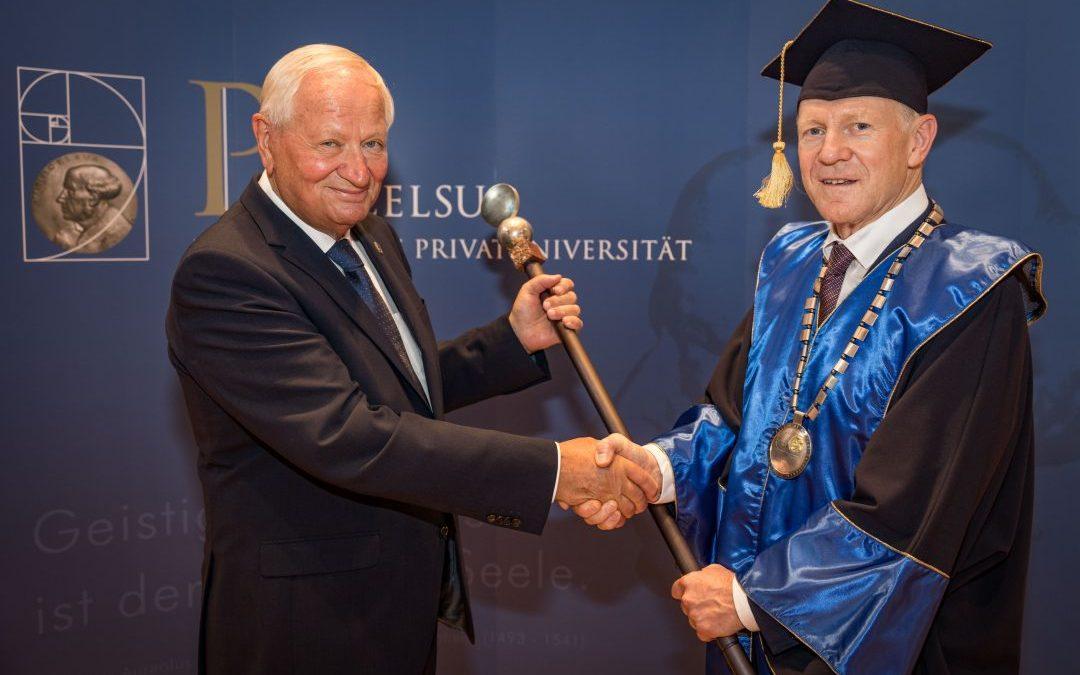 Inauguration von Univ.-Prof.Dr. Wolfgang Sperl zum Rektor der Paracelsus Medizinischen Privatuniversität Salzburg